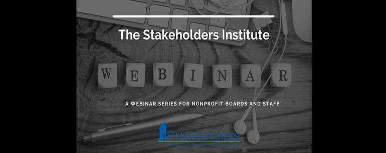 The Stakeholders Institute: Launching January 28